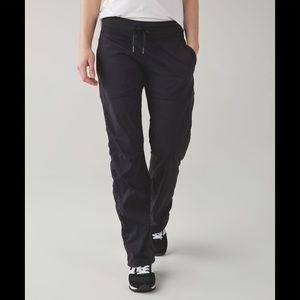 Lululemon Black Lined Studio Pants Sweatpants 2